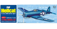U.S. F6F Hellcat 1/30 Balsa Model Kit