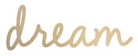 Kaisercraft: Wooden Words - Dream (3mm)