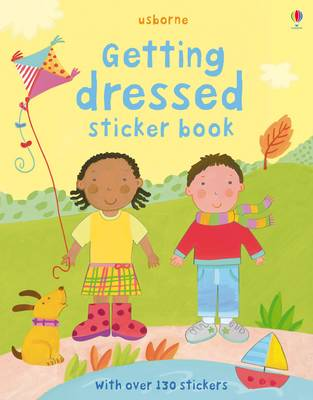 Getting Dressed Sticker Book image
