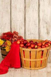 A Full Apple Basket in the Barn by Unique Journal image