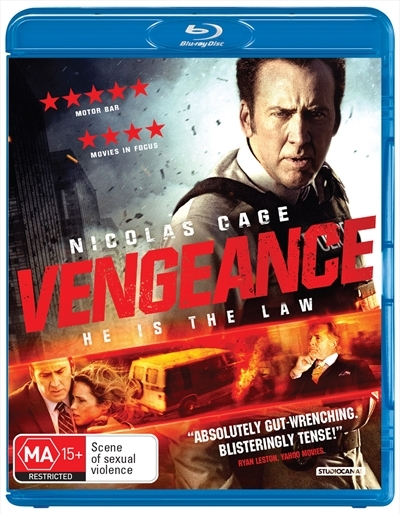Vengeance: A Love Story on Blu-ray