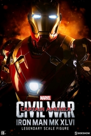 "Marvel: Iron Man (Mark XLVI) - 38"" Legendary Scale Statue"