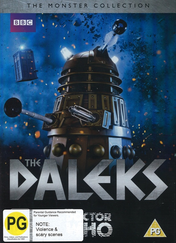 Doctor Who: The Monster Collection - The Daleks on DVD