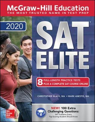 McGraw-Hill Education SAT Elite 2020 by Christopher Black image