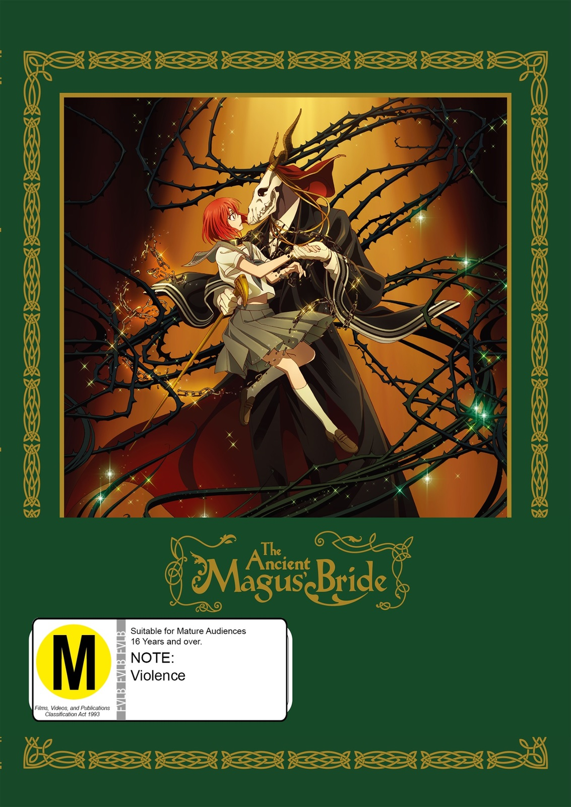 The Ancient Magus Bride: Part 1 on DVD, Blu-ray image