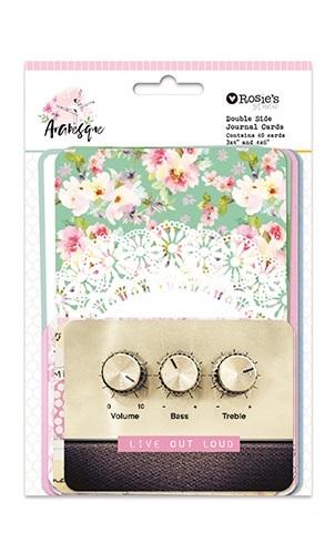 Rosie's Studio: Memory Cards - Arabesque (40-pk)