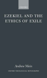 Ezekiel and the Ethics of Exile by Andrew Mein image