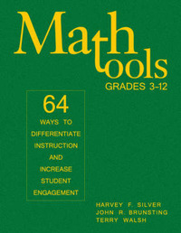 Math Tools, Grades 3-12: 64 Ways to Differentiate Instruction and Increase Student Engagement by Harvey F Silver image