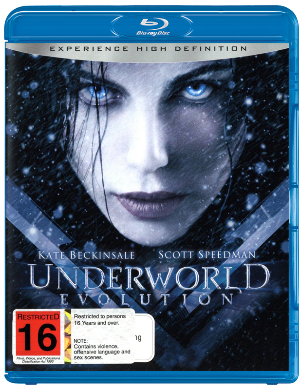 Underworld - Evolution on Blu-ray