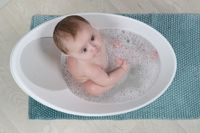 Shnuggle Bath - Pebble image