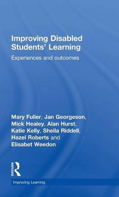 Improving Disabled Students' Learning by Mary Fuller image