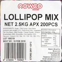 Nowco: Lollipop Bulk Mix 2.5kg image