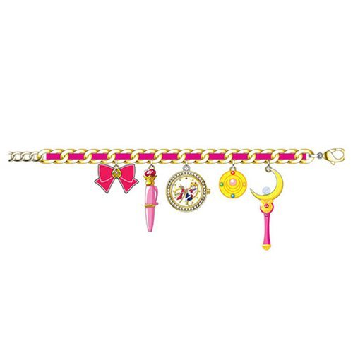Sailor Moon - Watch Charm Bracelet