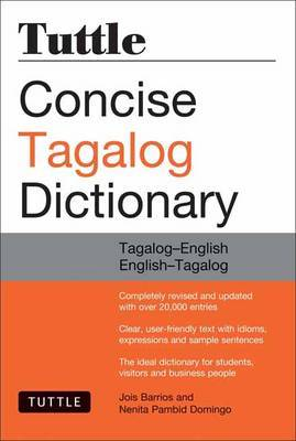 Tuttle Concise Tagalog Dictionary by Joi Barrios
