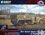 Rubicon 1/56 M3/M3A1 Expansion - M21 MMC & Tarpaulin Set