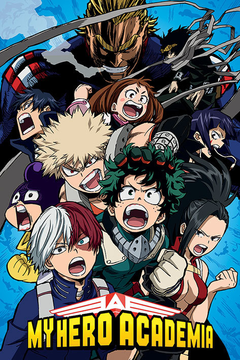 My Hero Academia Maxi Poster - Cobalt Blast Group (907)