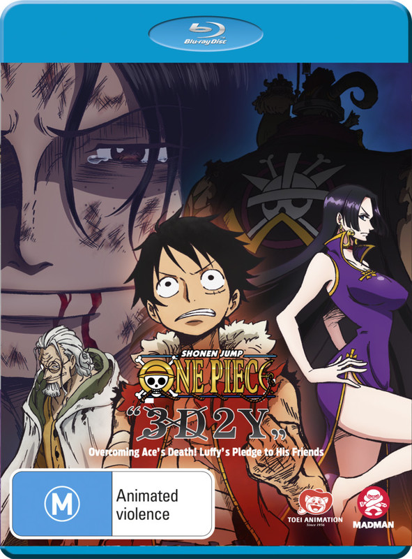 One Piece 3d2y Overcoming Ace's Death! on Blu-ray