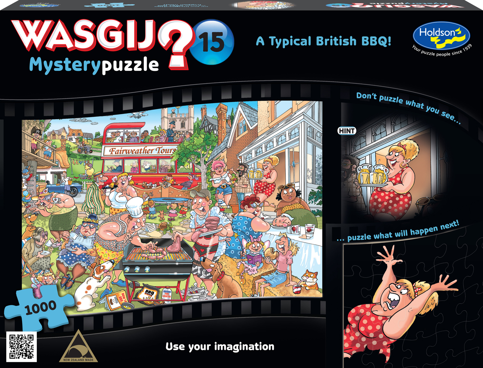 Wasgij: 1000 Piece Puzzle - A Typical British BBQ! image