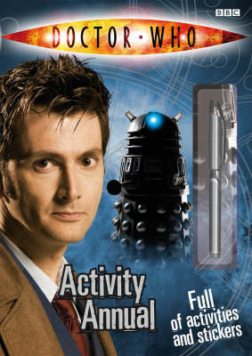 Doctor Who Activity Annual by Annabel Gibson image