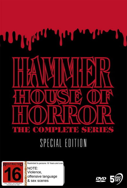 Hammer House Of Horror - The Complete Series Special Edition on DVD