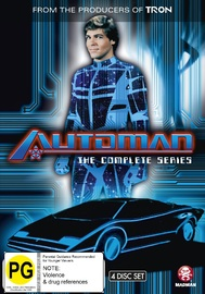 Automan - The Complete Series on DVD