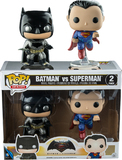 Batman vs Superman - Metallic Pop! Vinyl Set