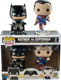 Batman vs Superman - Metallic Pop! Vinyl Set