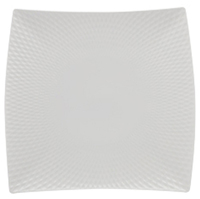 Maxwell & Williams White Basics Diamonds Square Platter (37.5cm)