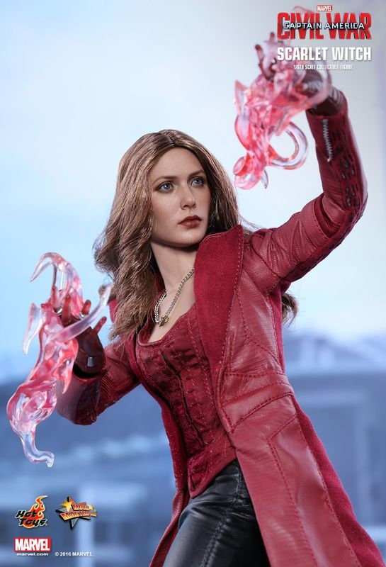 """Captain America 3 - Scarlet Witch 12"""" Figure"""