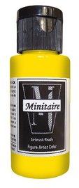 Badger: Minitaire Acrylic Paint - Mustard Gas (30ml)