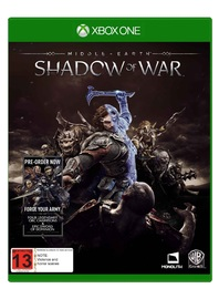 Xbox One S 500GB Shadow of War Console Bundle for Xbox One image