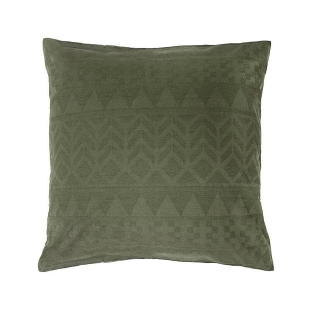 Bambury Jacquard Euro Pillow Case (Elvira)