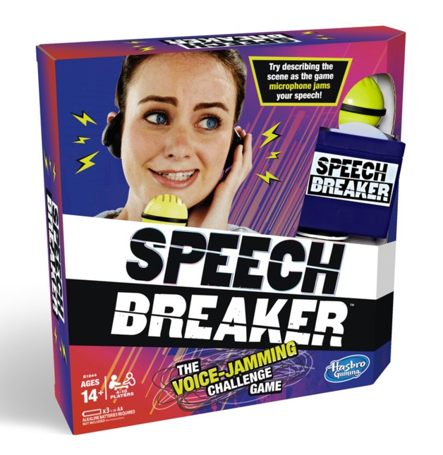 Speech Breaker - The Voice jamming Challenge Game
