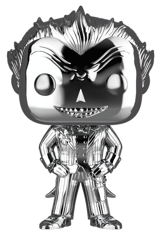 DC Comics: The Joker (Silver Chrome) - Pop! Vinyl Figure