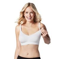 Bravado Designs: Body Silk Seamless Nursing Bra - White/Medium