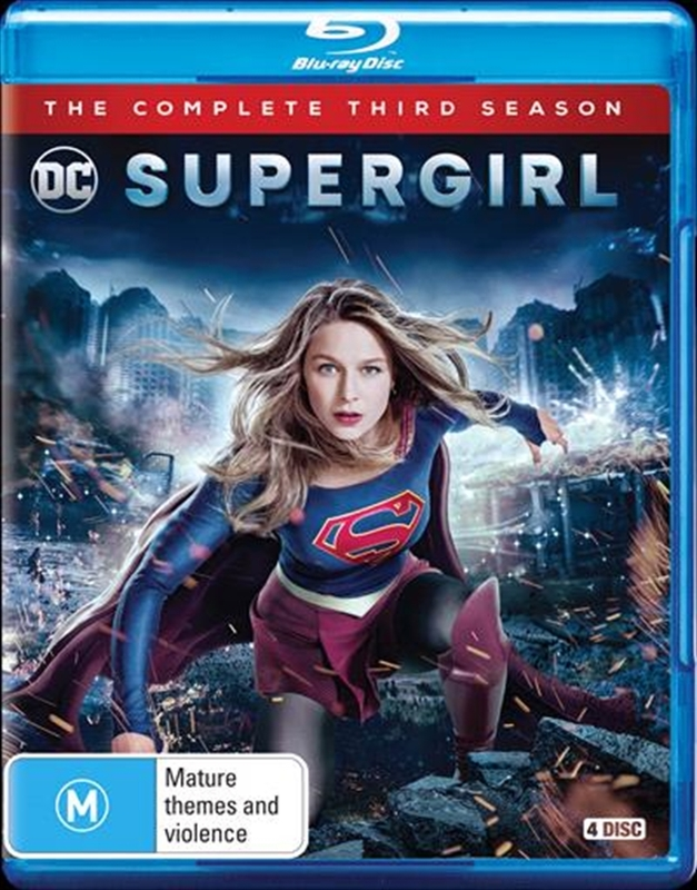 Supergirl: Season 3 on Blu-ray