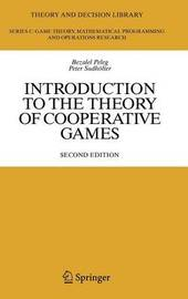 Introduction to the Theory of Cooperative Games by Bezalel Peleg