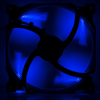 120mm Phanteks Premium Case Fan - Blue LED