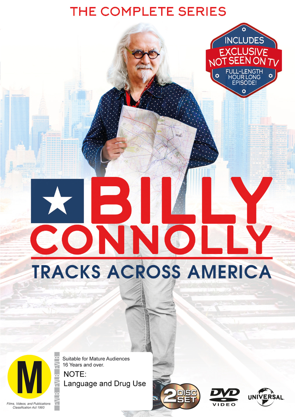 Billy Connolly - Tracks Across America on DVD image