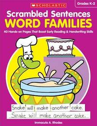 Scrambled Sentences: Word Families by Immacula A Rhodes