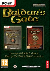 Baldur's Gate + Tales of the Sword Coast Expansion for PC Games