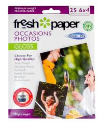 Fresh Photo Paper Occasions Gloss - 6x4 (25 sheets)