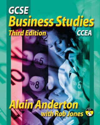 GCSE Business Studies: CCEA Version by Alain Anderton image