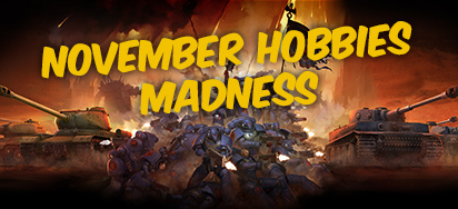 November Hobbies Madness