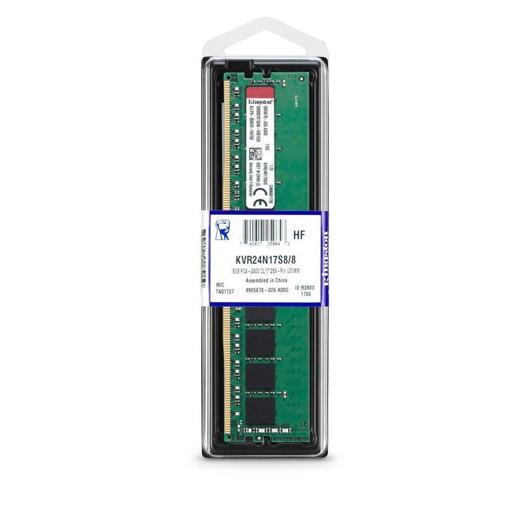 8GB Kingston 2400Mhz DDR4 Non-ECC CL17 Dimm image