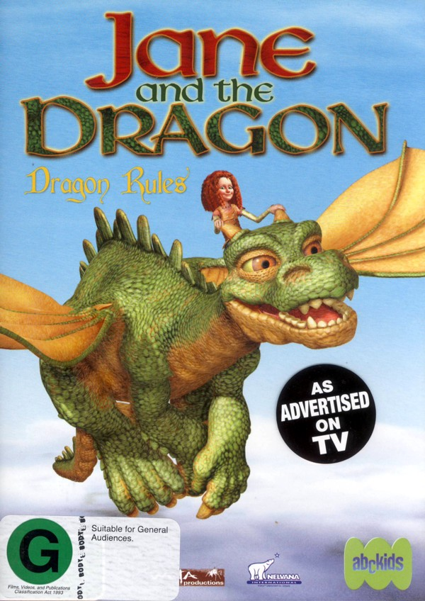 Jane And The Dragon - Dragon Rules on DVD image