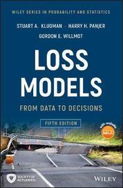 Loss Models by Stuart A. Klugman image