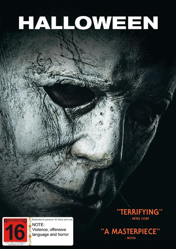 Halloween (2018) on DVD