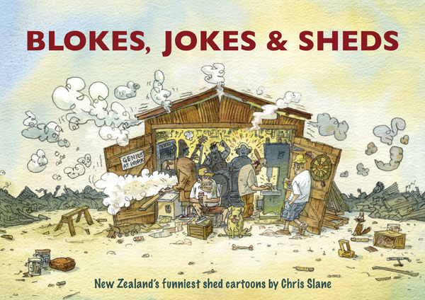 Blokes, Jokes and Sheds by Chris Slane image