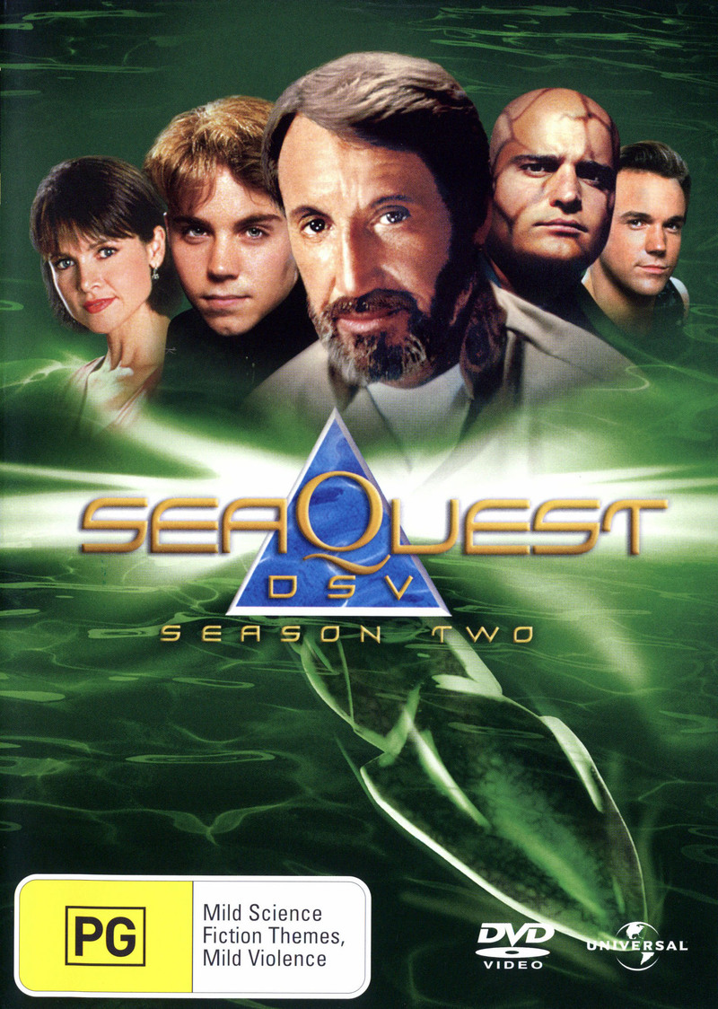 SeaQuest DSV - Season 2 (8 Disc Set) on DVD image